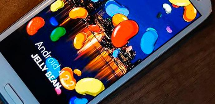 Samsung Galaxy S3 con Android 4.2.2 Jelly Bean
