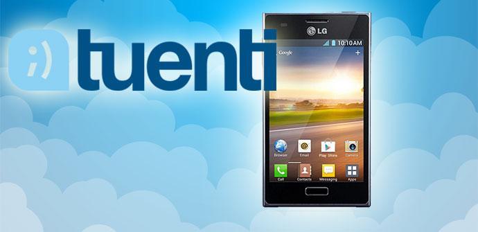LG Optimus L5 con Tuenti