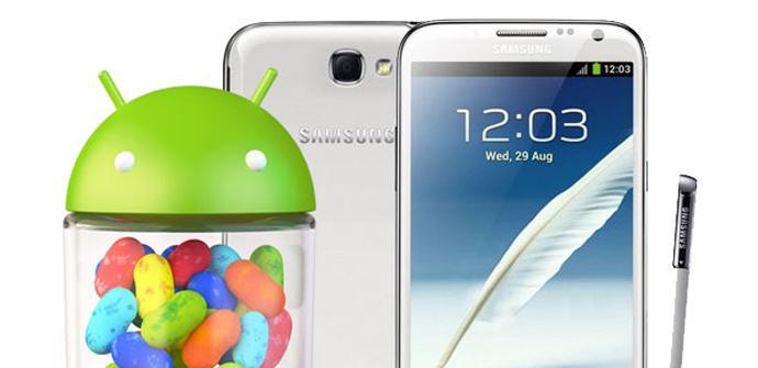 El Samsung Galaxy Note 2 muy cerca de recibir Android 4.2.2