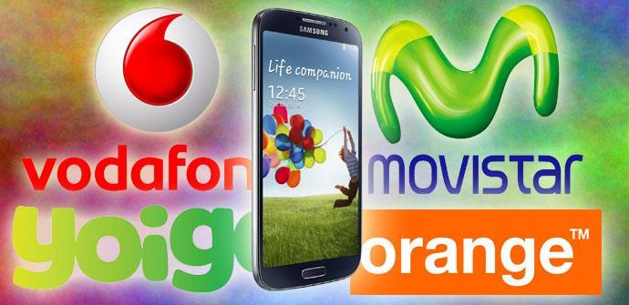 Samsung Galaxy S4 comparativa de tarifas