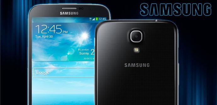 Inicio comercial del Samsung Galaxy Mega 6.3