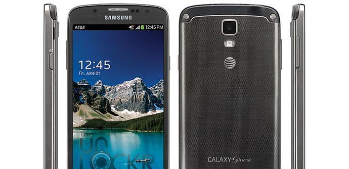 Imagen oficial del Samsung Galaxy S4 Active