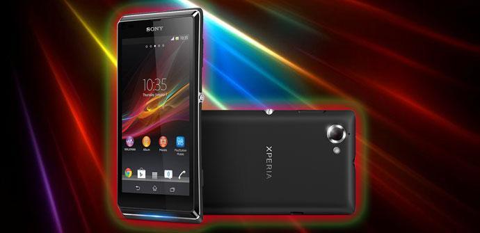 Teléfono Sony Xperia L
