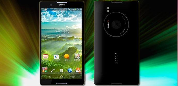 Concepto del Sony Xperia i1 Honami
