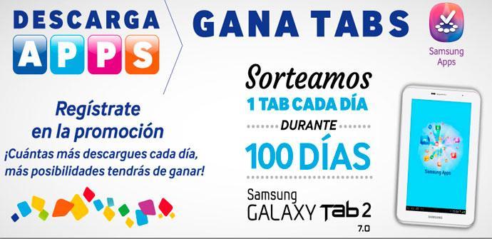 Promoción Samsung Galaxy Tab 2