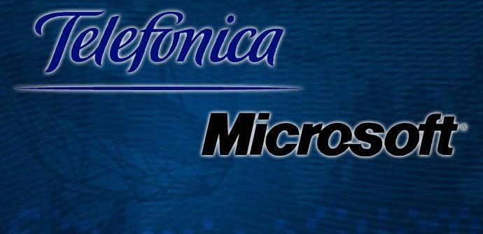 Telefonica-y-Microsoft