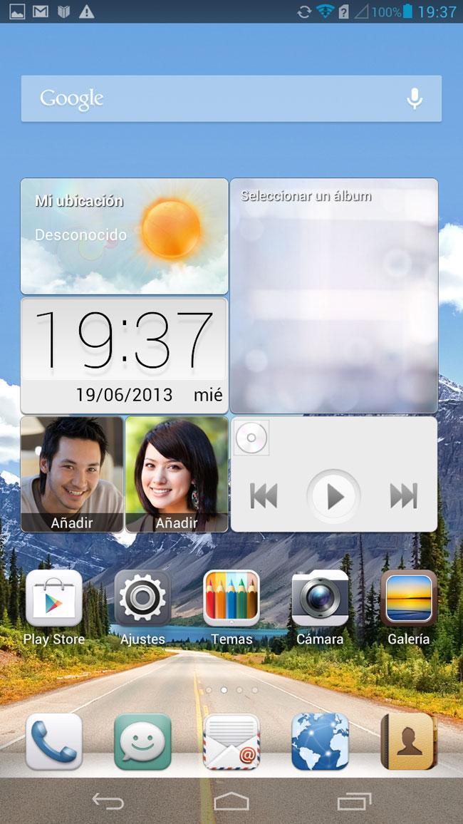 Huawei Ascend Mate escritorio