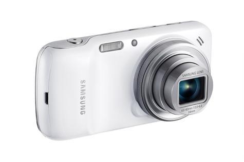 Samsung Galaxy S4 Zoom vista de su objetivo