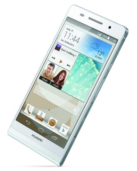 Huawei Ascend P6 en color blanco