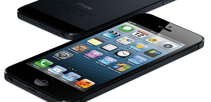 Detalle anterior y posterior del iPhone5