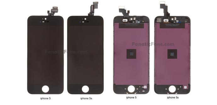iphone5 vs iphone 5s