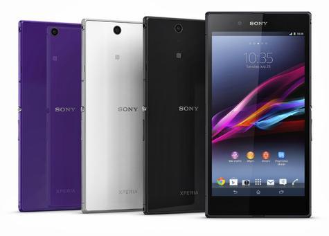 Sony Xperia Z Ultra en diferentes colores
