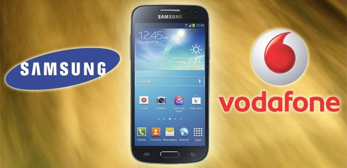 Vodafone lanza el Samsung Galaxy S4 mini con 4G en exclusiva