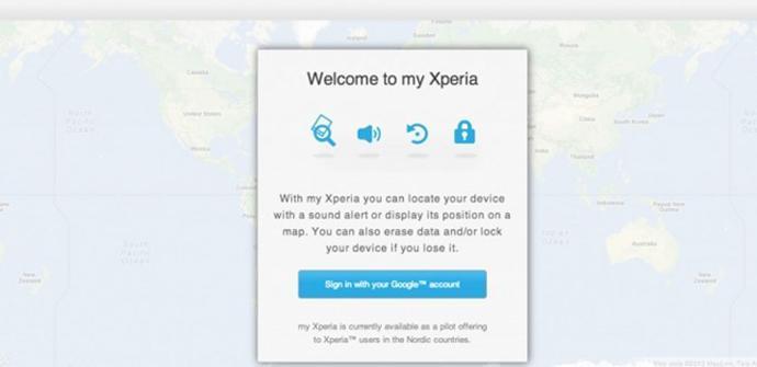 """Sony """"My Xperia"""" estará disponible en todo el mundo próximamente."""
