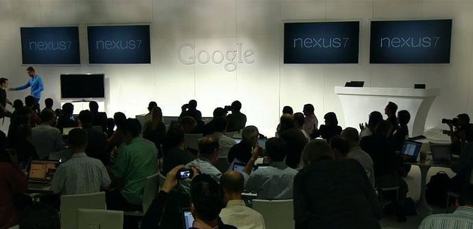 Presentación Nexus 7