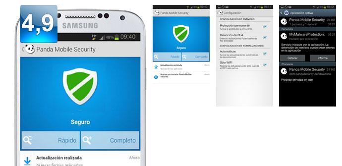 Apertura de Panda Security Mobile