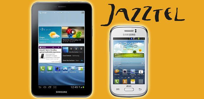 El Samsung Galaxy Young y el Samsung Galaxy Tab 2.7.0 desde 10 euros al mes con Jazztel.