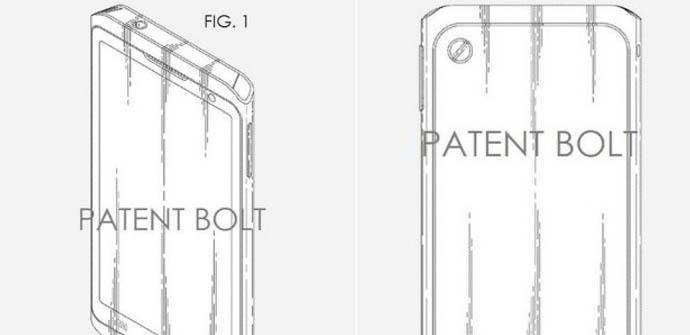 Patente nuevo diseño Samsung.