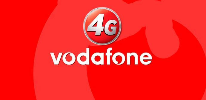 Logotipo de Vodafone 4G