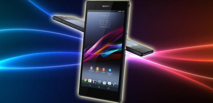 Aparece el primer firmware certificado para el Sony Xperia Z Ultra.