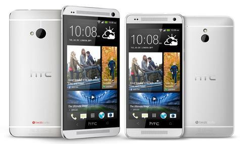 HTC One Mini comparado con HTC One