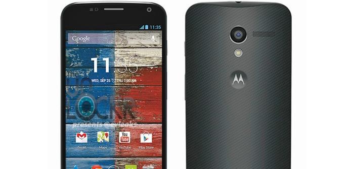 Motorola X, se filtra su imagen y sus especificaciones.