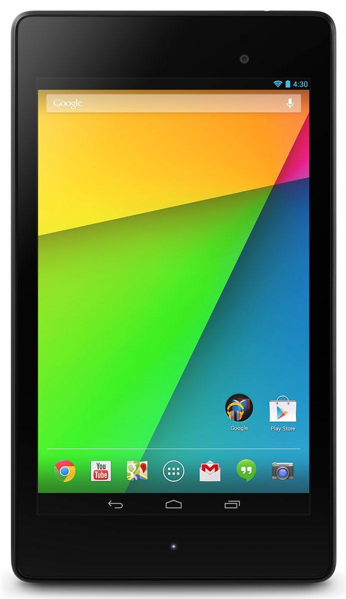 Nuevo Nexus 7 vista frontal
