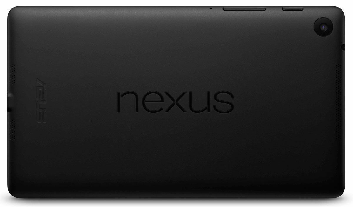 Nuevo Nexus 7 vista trasera