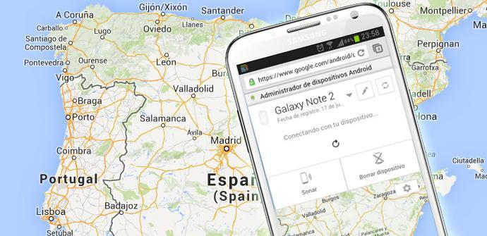 Acceso remoto de Google para dispositivos Android ya funciona en España.