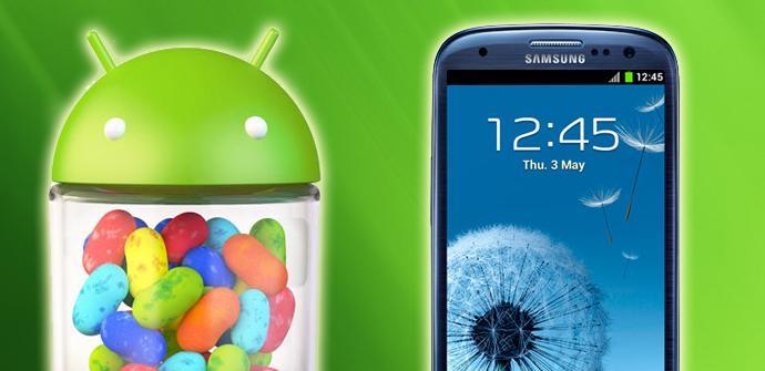 El Samsung Galaxy S3 recibirá Android 4.3 Jelly Bean directamente.