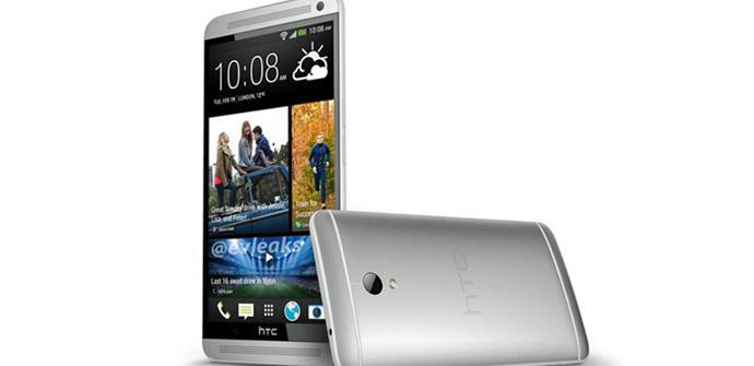 HTC One Max foto de prensa no oficial.
