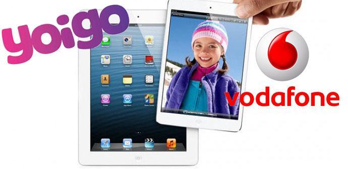 iPad 4 y iPad mini con Yoigo y Vodafone en The Phone House.