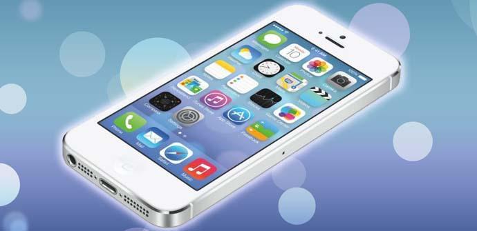 iPhone 5S iOS 7.
