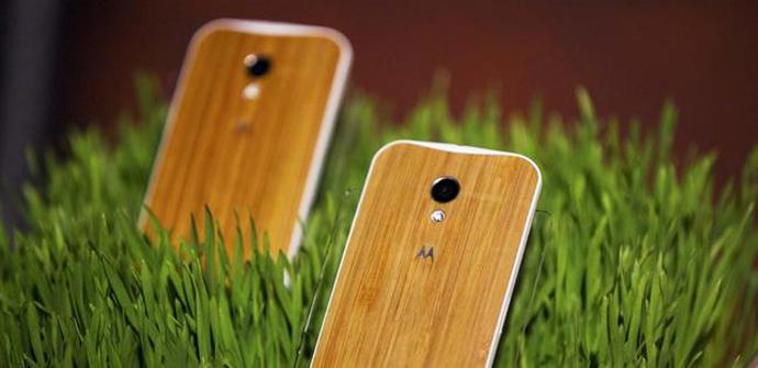 Motorola Moto X tendrá cuatro versiones con carcasa de madera.