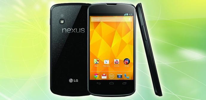 Nexus 4 negro.