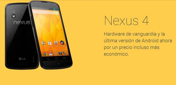 Nexus 4 más economico