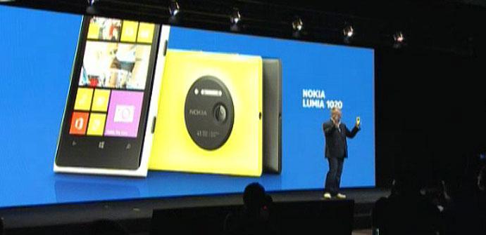 Presentacion del Nokia Lumia 1020