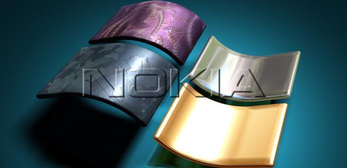 Logo de Nokia y Windows