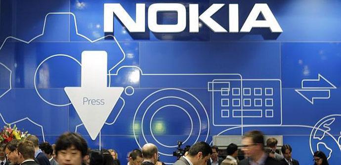 Zona de prensa de Nokia
