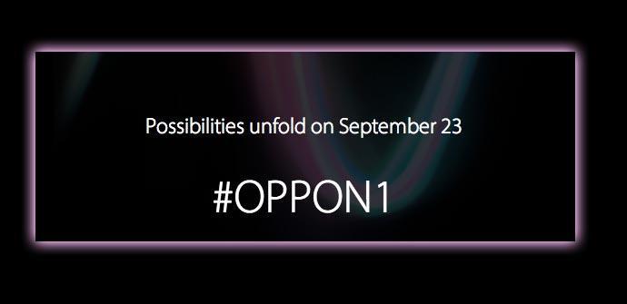 El lanzamiento del Oppo N1 se producirá el 23 de septiembre.