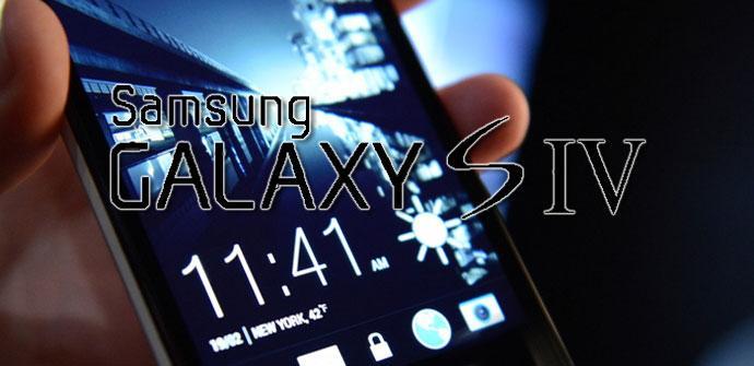 Samsung Galaxy S4 con HTC Sense 5