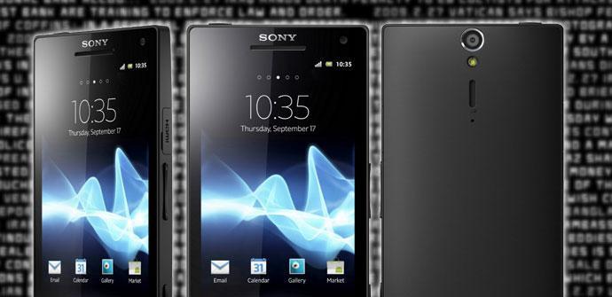 Teléfono Sony Xperia S