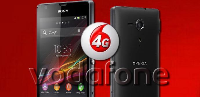 Smartphone Vodafone 4G