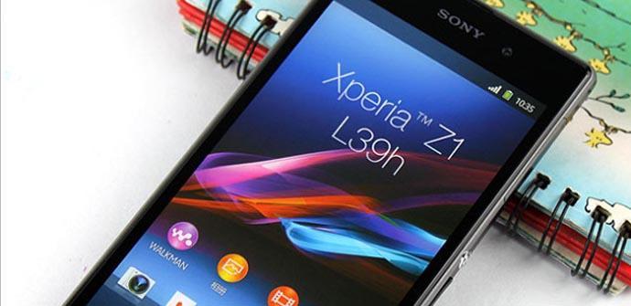 Nuevas fotografías del Sony Xperia Z1.
