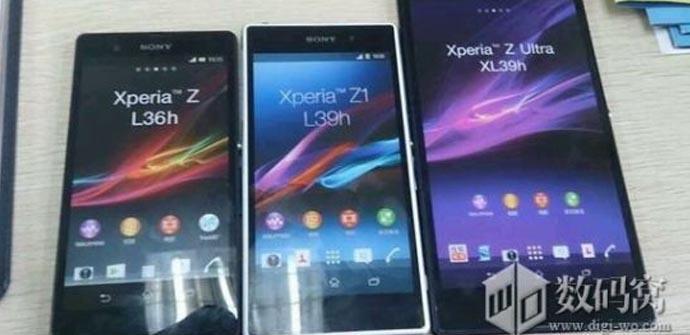 maqueta del Sony Honami que confirma el nombre de Sony Xperia Z1.
