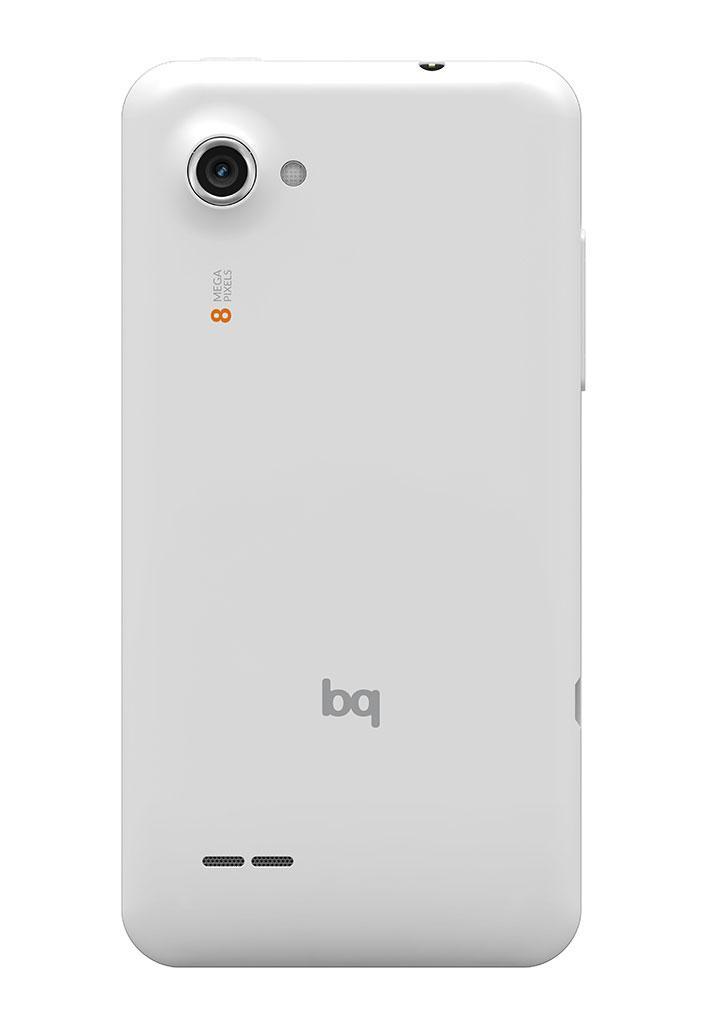 bq Aquaris 4.5 vista lateral