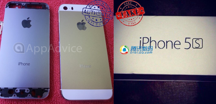 fotos iphone 5s dorado