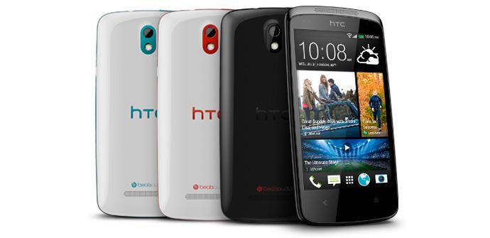La gama HTC Desire 500 llegará a Europa.