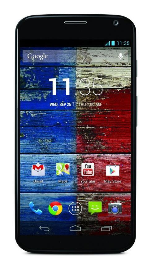 Motorola Moto X en color negro