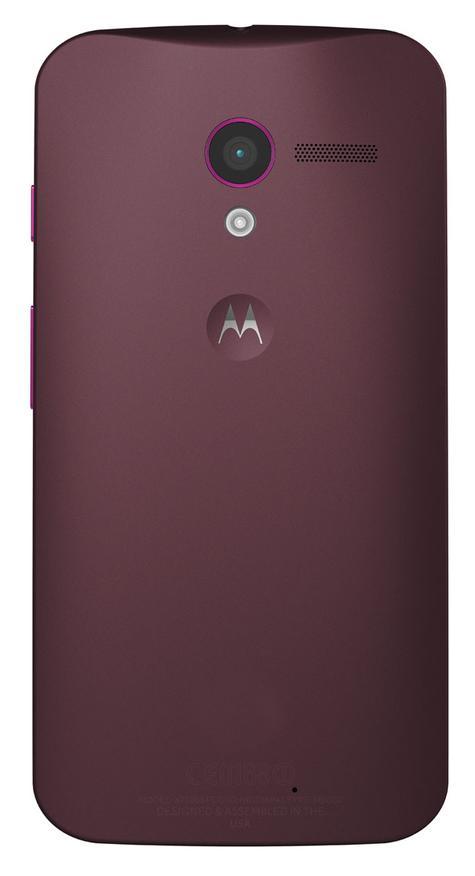 Motorola Moto X vista trasera